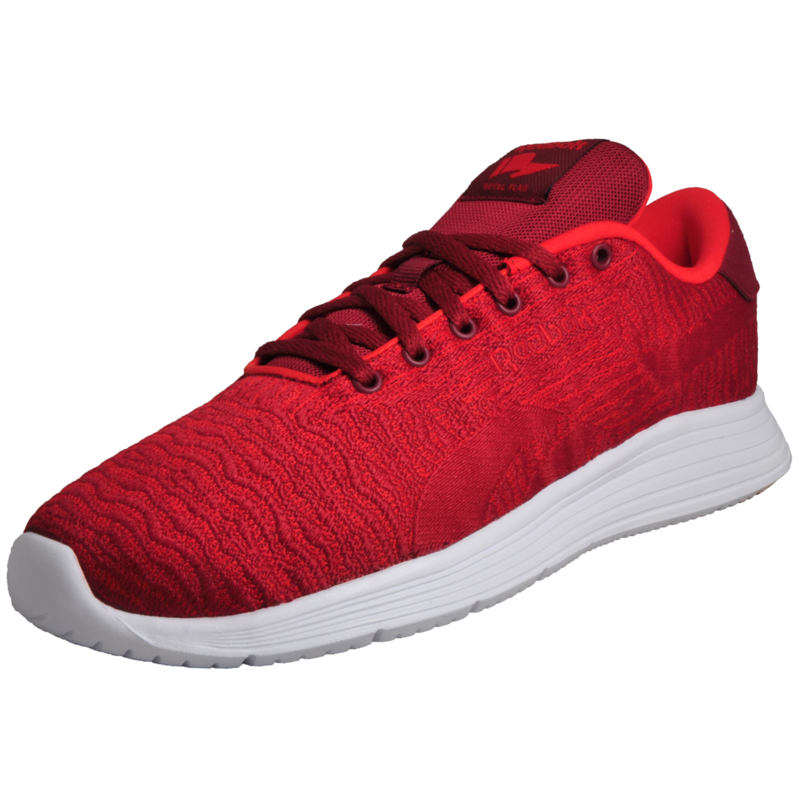 Reebok Royal EC Ride Men s Running Shoes Fitness Gym Trainers Red  fd8643544