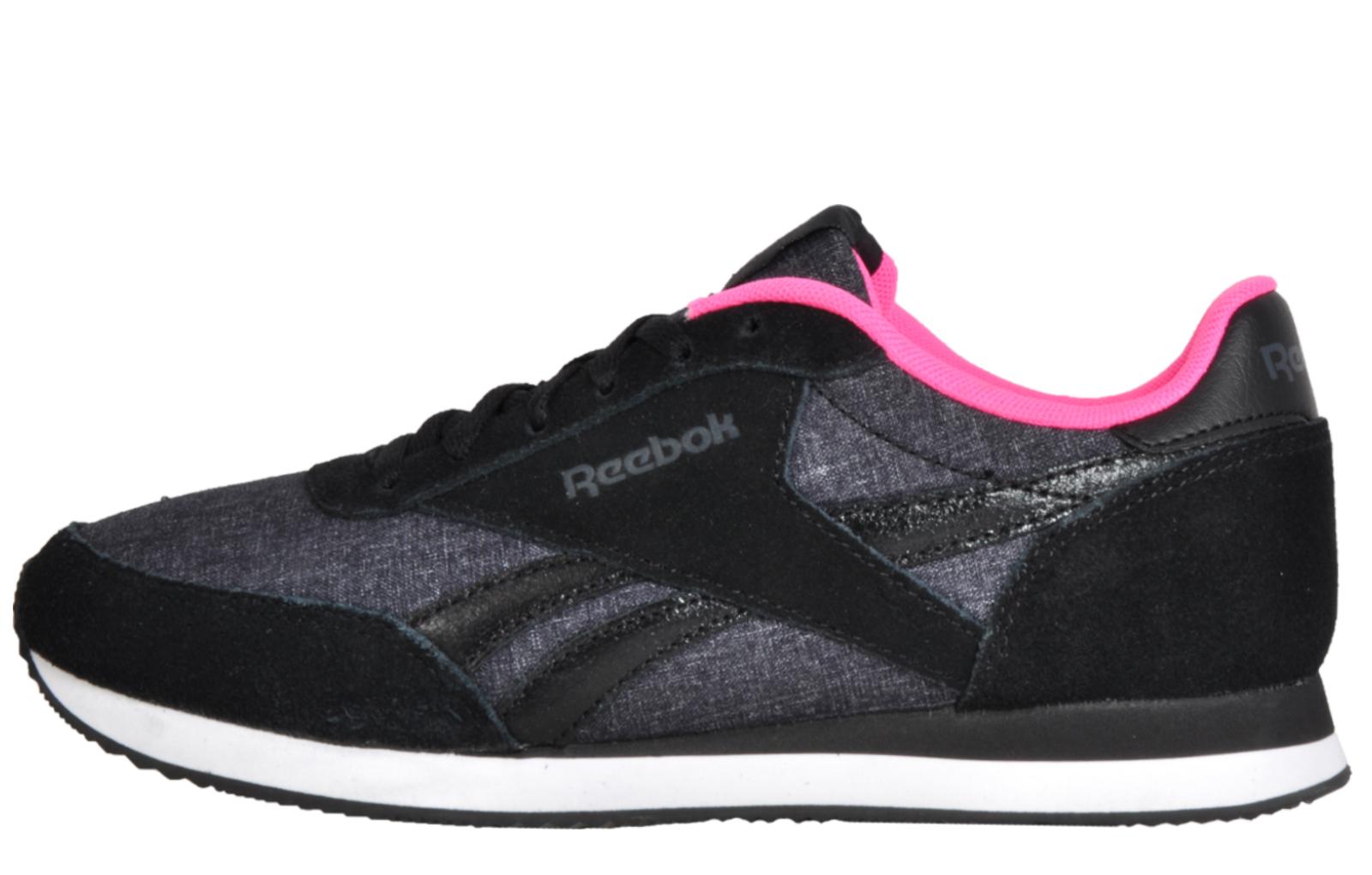 Reebok Royal Classic Jog 2LX Women s Girls Casual Retro Fashion Trainers  Black 952708926