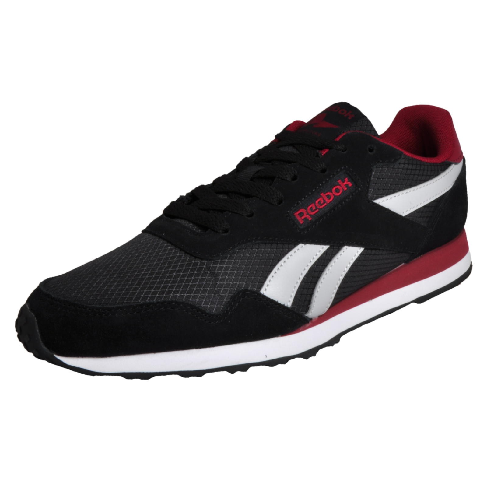Details about Reebok Royal Ultra Classic Men s Causal Fashion Retro  Trainers Black bf62c3305