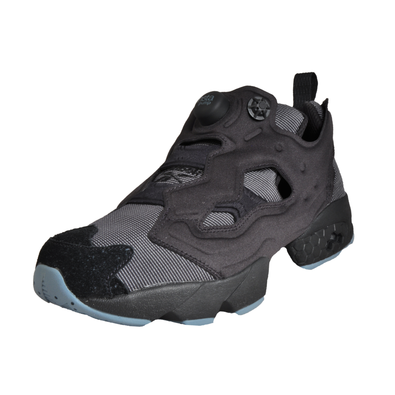 9889bc13e7f021 Details about Reebok Classic Instapump Fury MTP Mens Classic Retro Running  Trainers Black