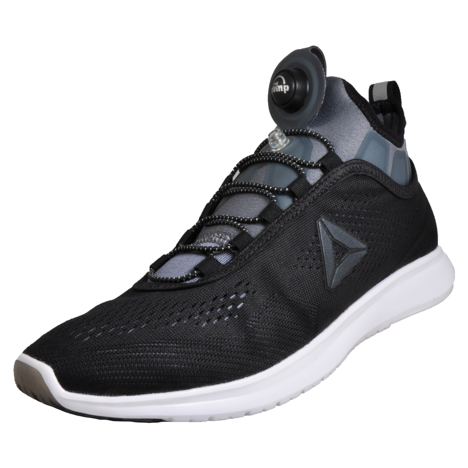 3ade8121578 Reebok Pump Plus Tech Women s Running Shoes CrossFit Gym Workout Trainers  Black