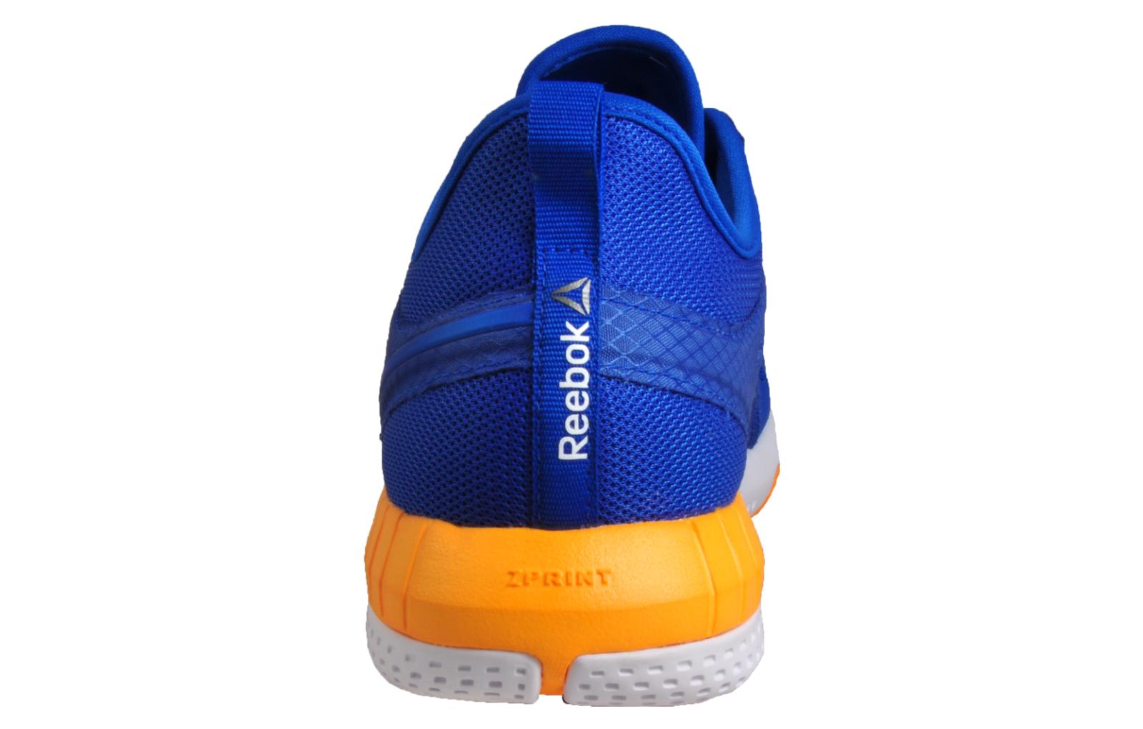 e3dee609f7a8df Reebok Zprint 3D Mens Running Shoes Gym Fitness Trainers Blue