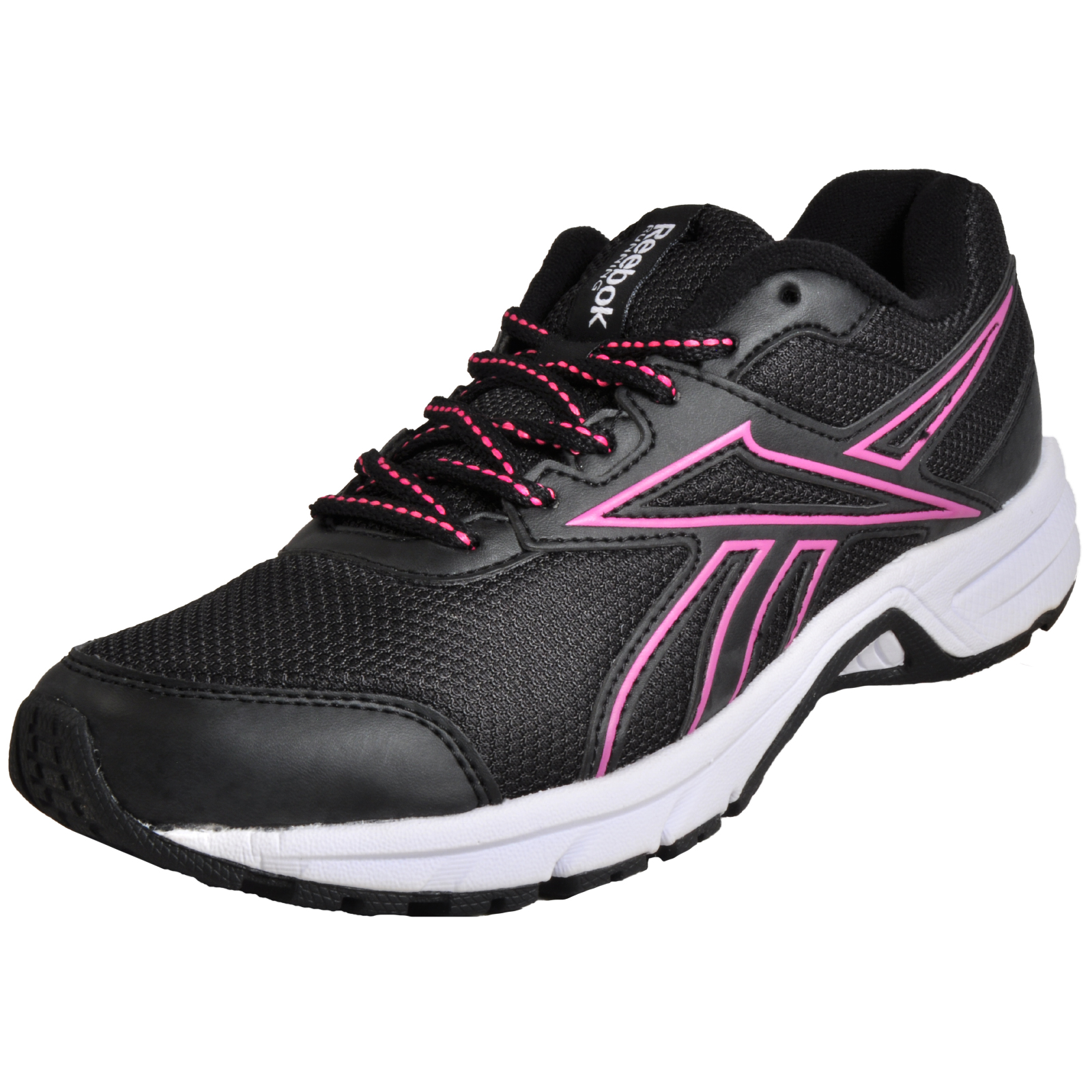 fe395e78e20ac2 Details about Reebok Centerfire RS Women s Running Shoes Fitness Gym  Trainers Black