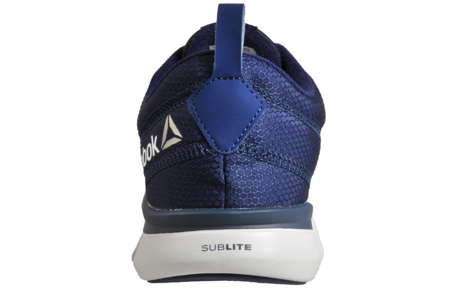 Reebok Sublite Authentic 4.0 Mens Running Shoes Fitness Gym Trainers Navy fda95ee23