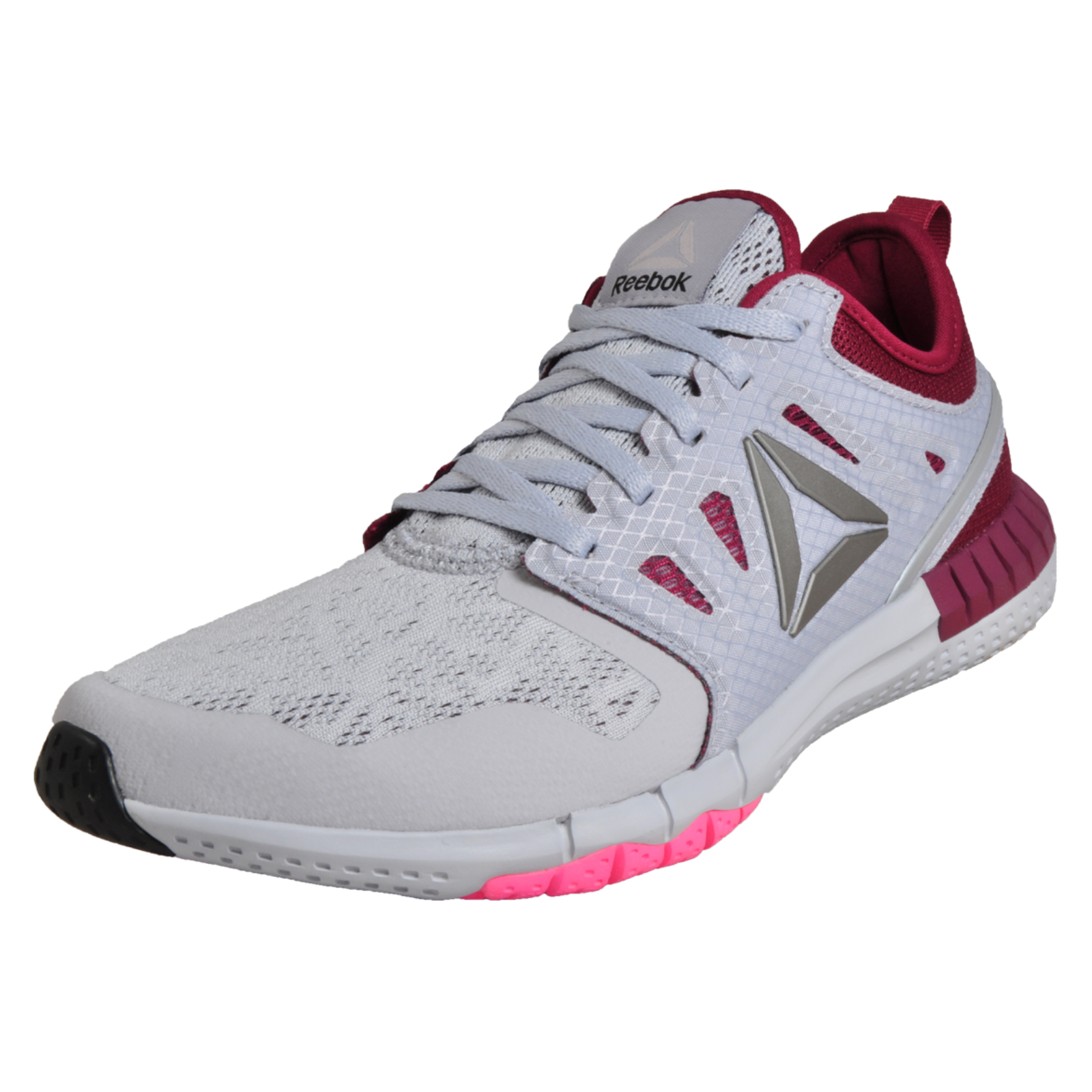 bca27a1cb5abf1 Details about Reebok Z Print 3D Womens Running Shoes Fitness Gym Trainers  Grey