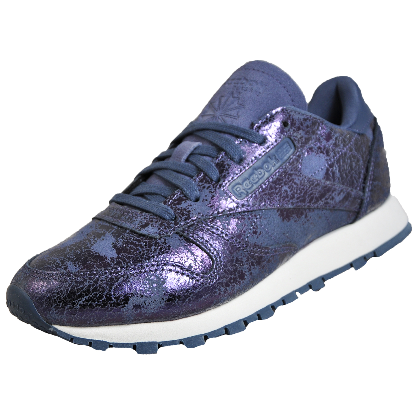 22c7fd871 Reebok Classic CL Leather Hype Women s Casual Retro Fashion Trainers ...