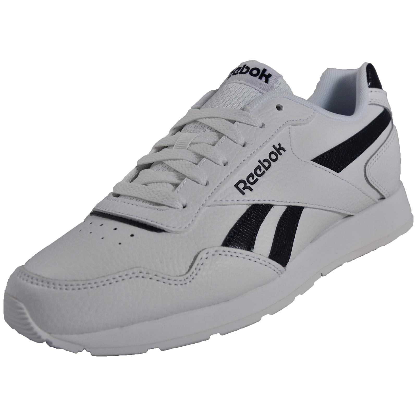 Détails sur Reebok Royal Glide homme en cuir classique casual fashion Sneakers Baskets Blanc afficher le titre d'origine
