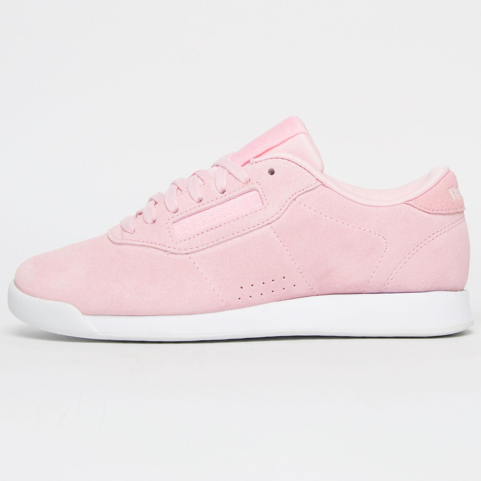 cohete Irradiar Reposición  Reebok Classic Princess Suede Leather Women's Girls Casual Retro Trainers  Pink | eBay