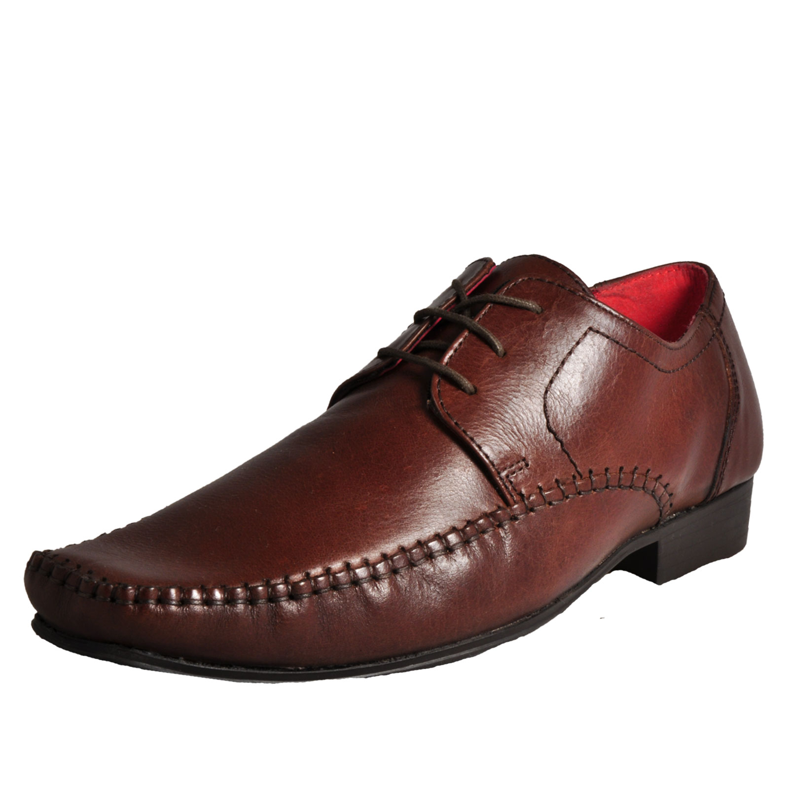 Details about Red Tape Ching Men s Formal Smart Dress Leather Lace Up Shoes  Brown dd7088c950f1