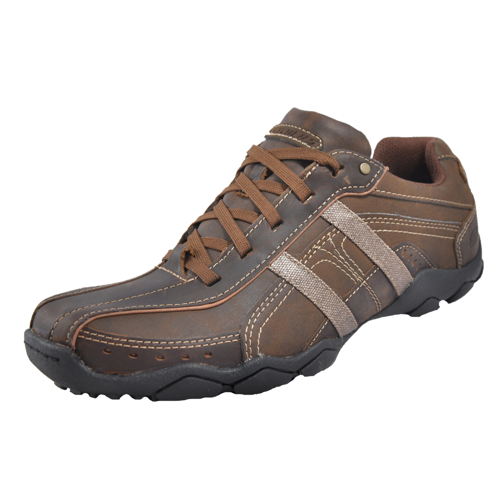 Skechers Murilo 64276 Mens Casual Shoes Brown