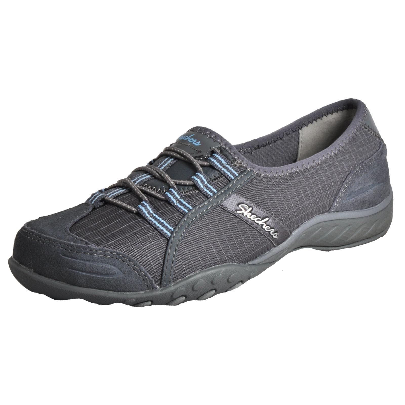 Skechers Breathe Easy Allure Women's Active Wear Slip-On Shoes Memory Foam