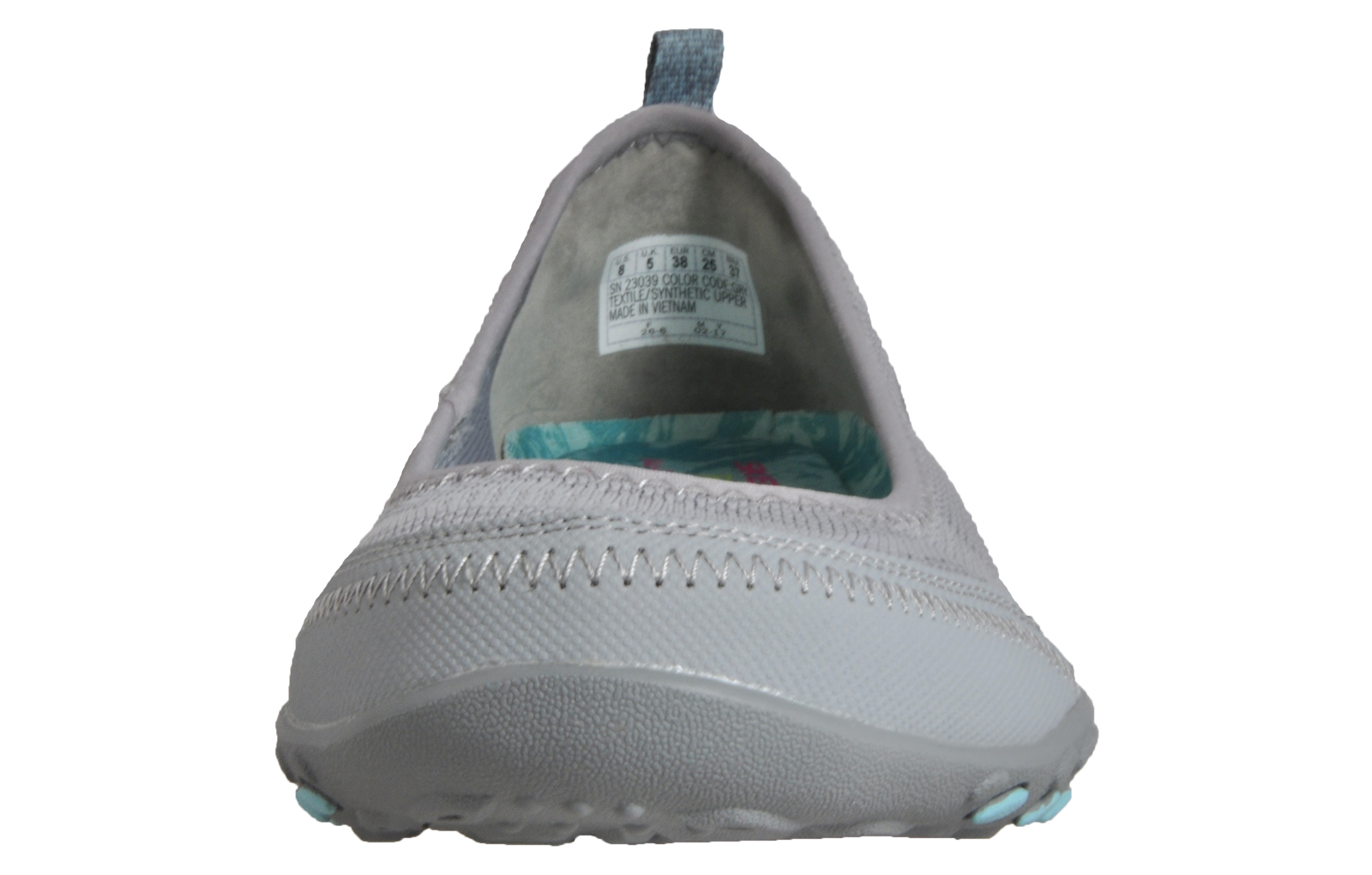 a4a9b3f87a4 Skechers Breathe Easy Women s Memory Foam Casual Slip on Shoes Pumps Grey