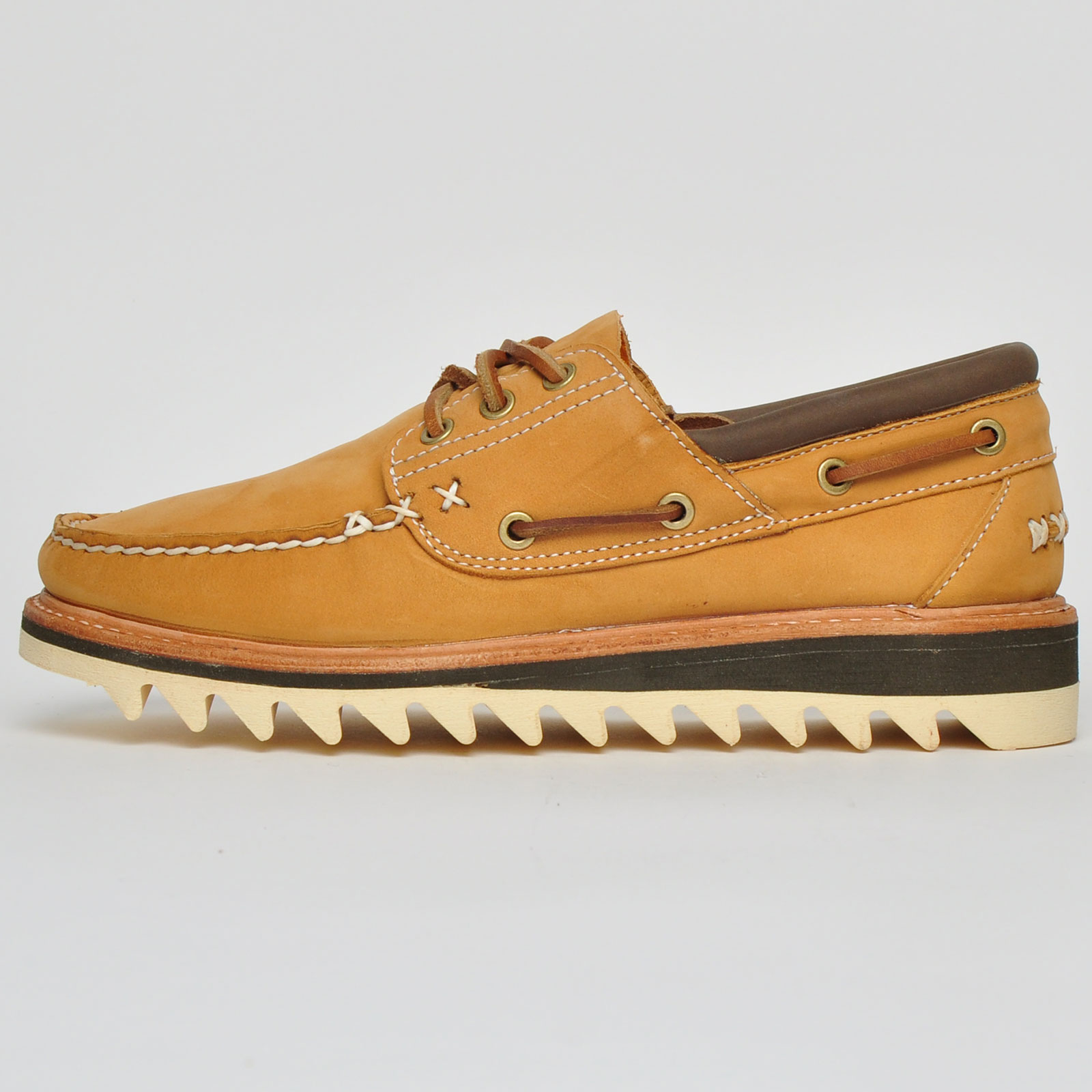 Detalles de Timberland Selbyville 3 Ojo Cuero Hombre Zapatos Náuticos