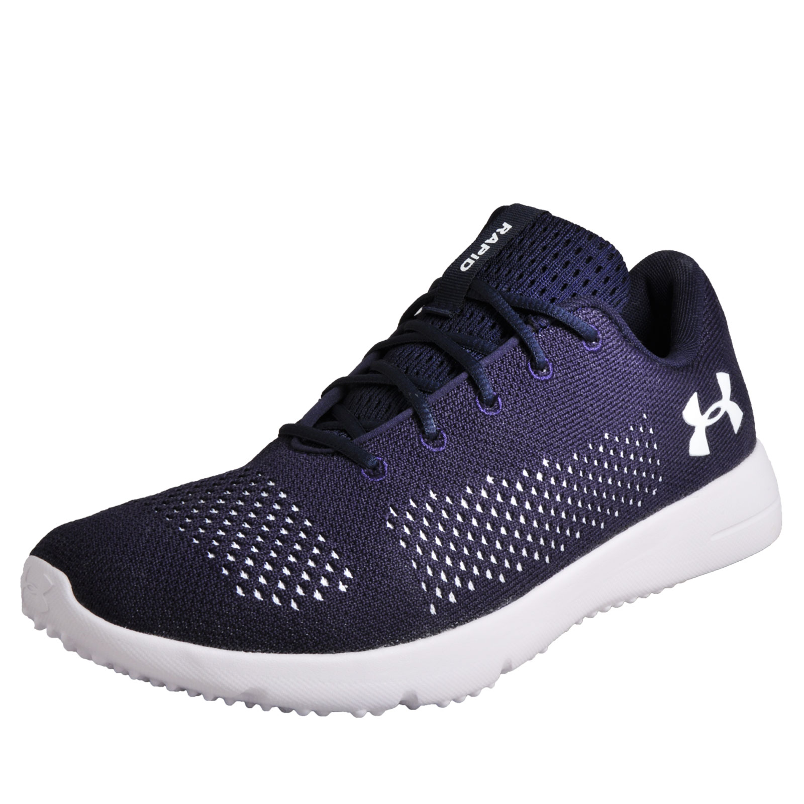4029551b2ea644 Details about Under Armour Rapid Mens Running Shoes Fitness Gym Workout  Trainers Navy