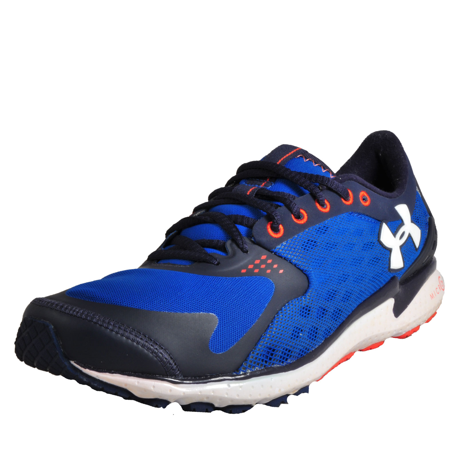 ae6605feb49a Details about Under Armour Micro G Defy Men s Running Shoes Fitness Gym  Trainers Blue