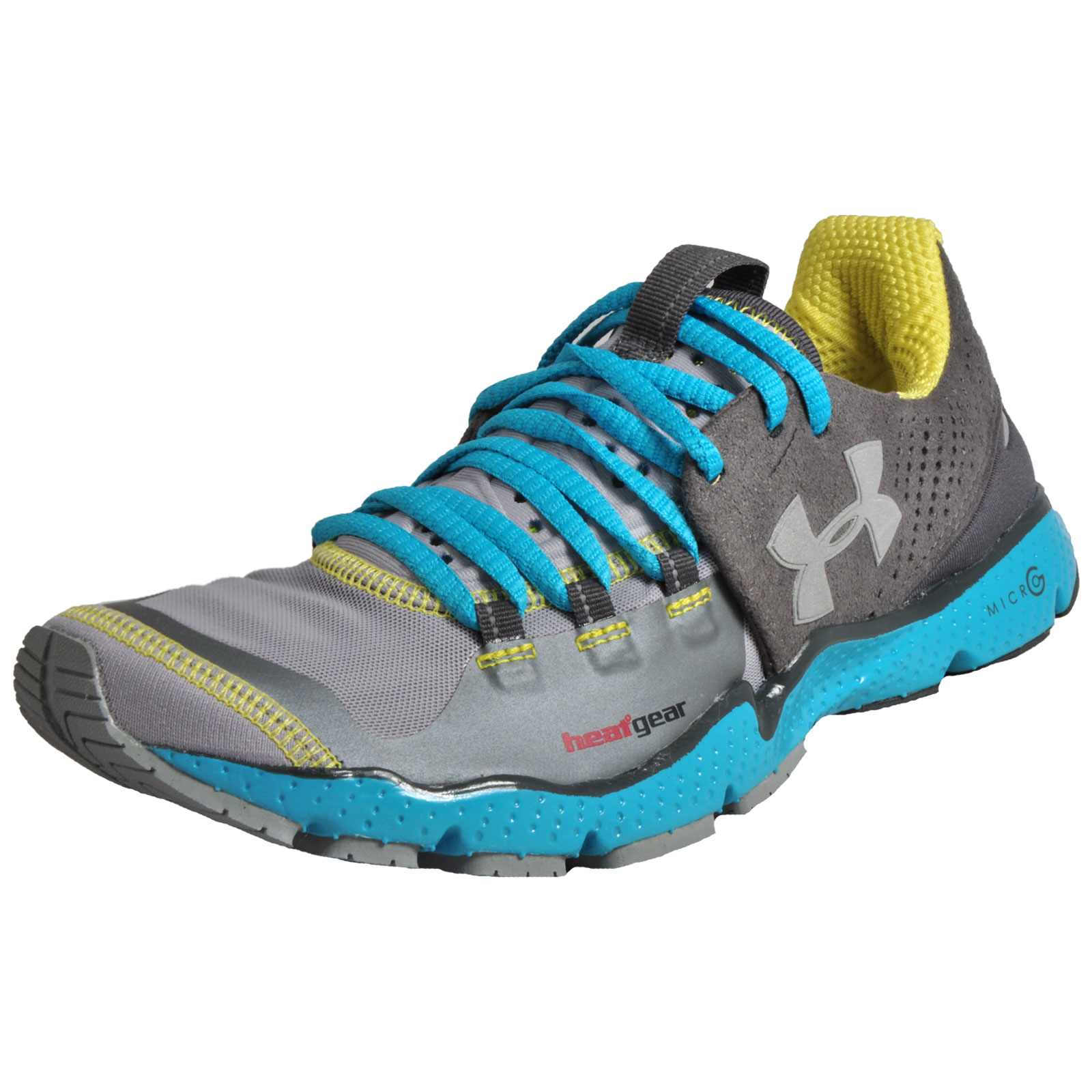 best website 884ce 34bd1 Details about Under Armour Charge RC Womens Premium Running Shoes Fitness  Gym Trainers Grey