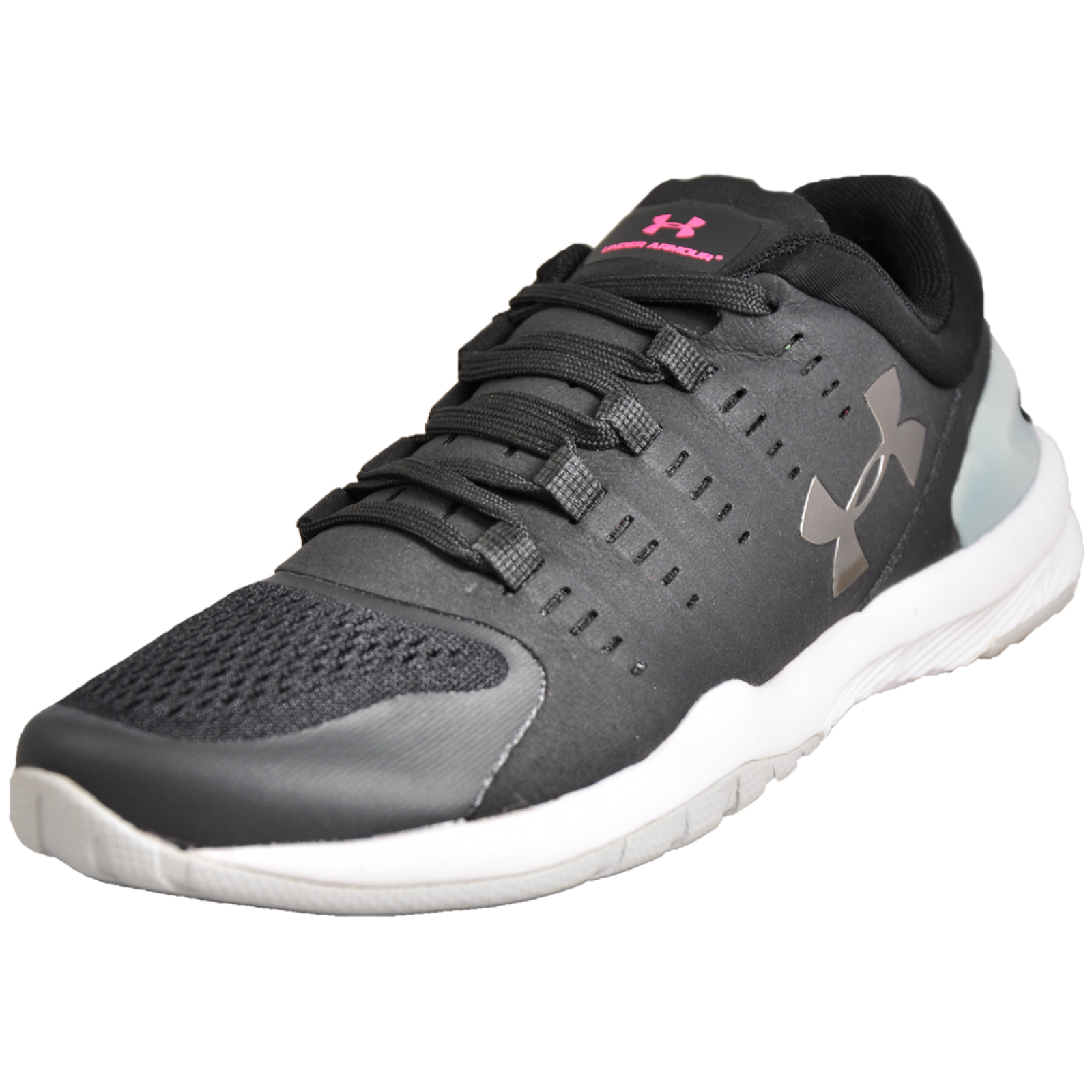 d2a5a06d03d7 Details about Under Armour Charged Stunner Running Shoes Womens Fitness Gym  Trainers Black UK