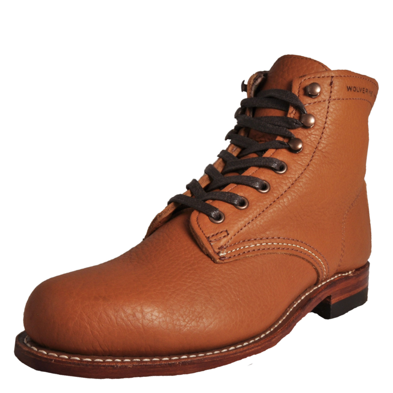 f7fb1220d7a Détails sur Wolverine 1000 Mile Centennial Men's Classic Casual Leather  Boots Tan
