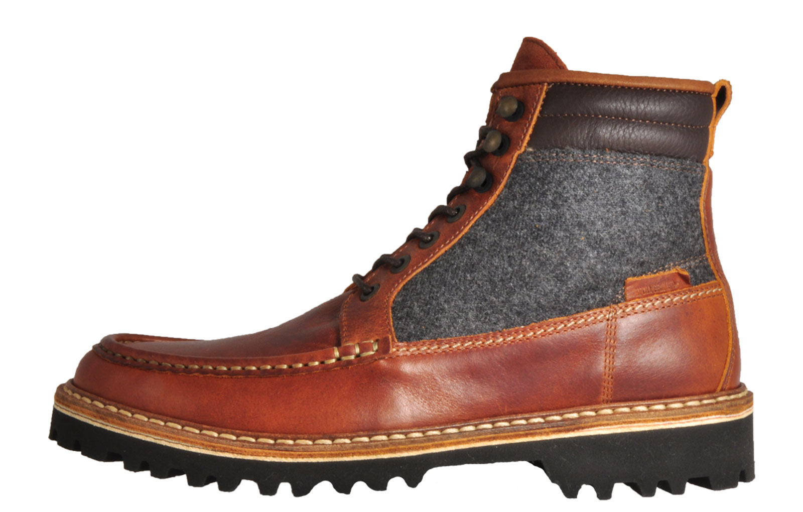 6daaeeb0902 Details about Wolverine 1883 Ricardo Men's Leather Classic Casual Walking  Hiking Boots Brown