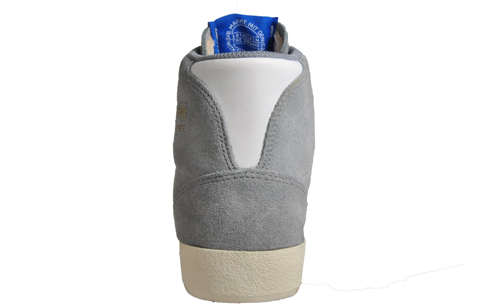 finest selection 584be b7fdf Adidas Originals Basket Profi Hi Uni Classic Basketball Retro Trainers Grey  B Grade