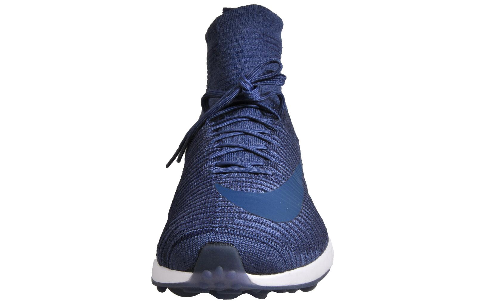 a174c7dc6b83 Nike Zoom Mercurial XI FlyKnit Mens Premium Performance Running Shoes Navy