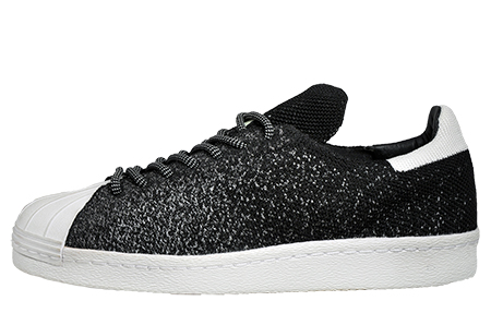 huge selection of 4595a 5b59b Black  White. Adidas Originals Superstar 80s PrimeKnit Mens - AD136390