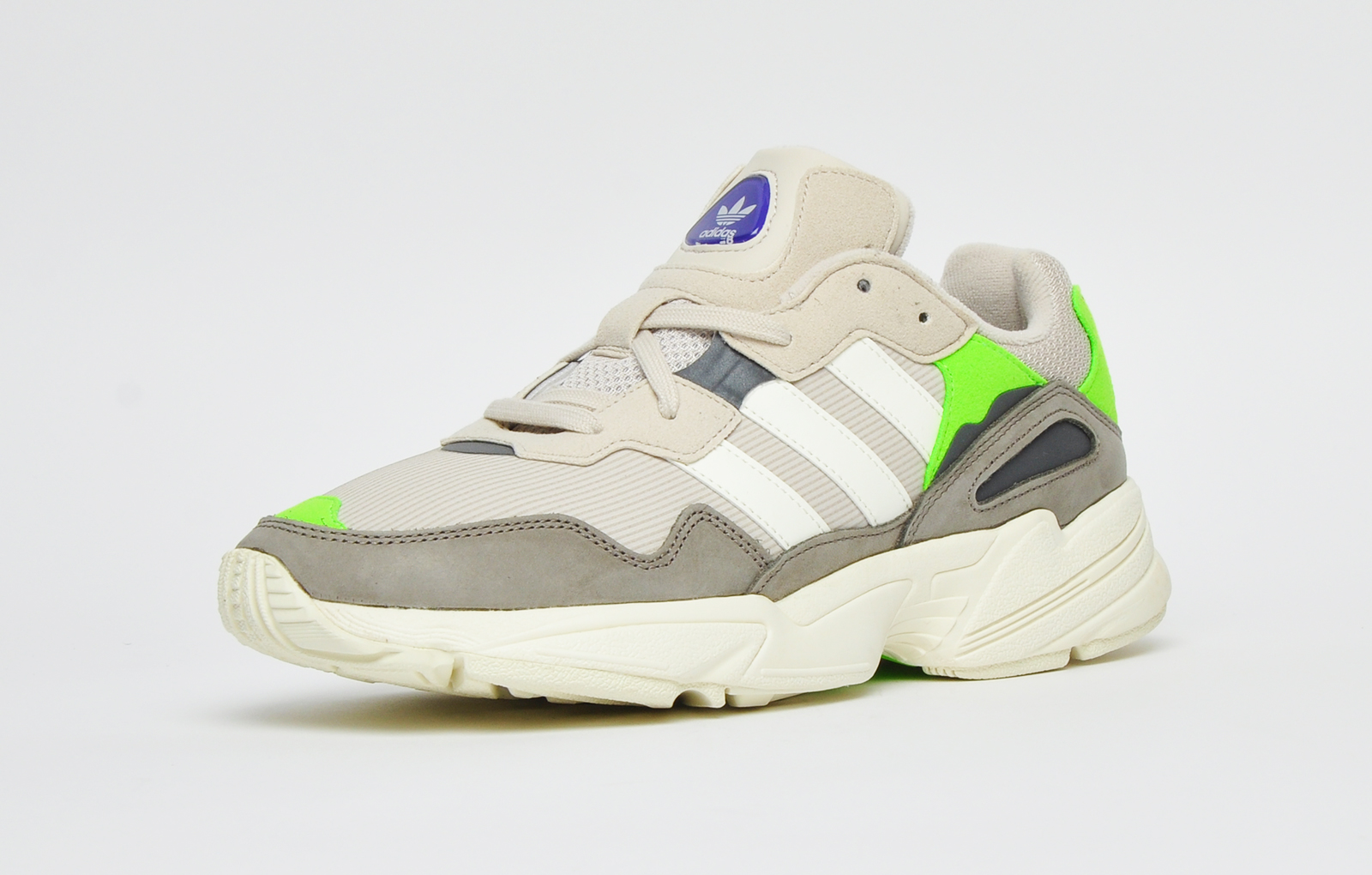 Yung 96 leather mix trainers , light