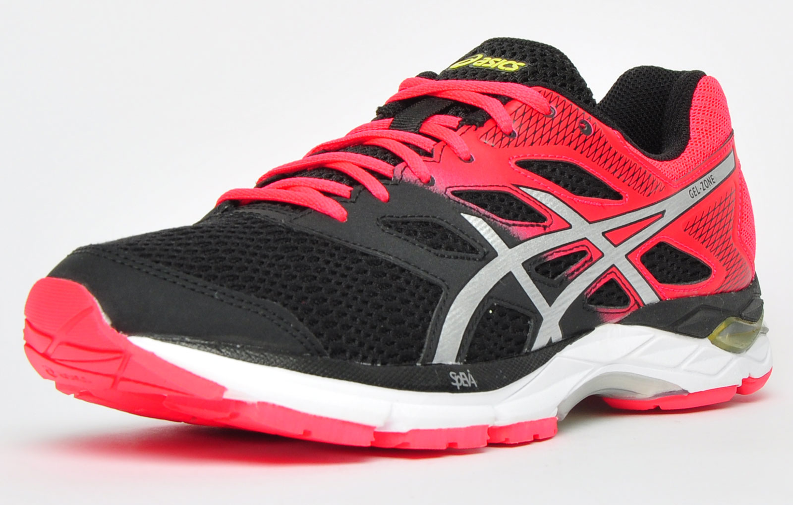 asics womens shoes red zone