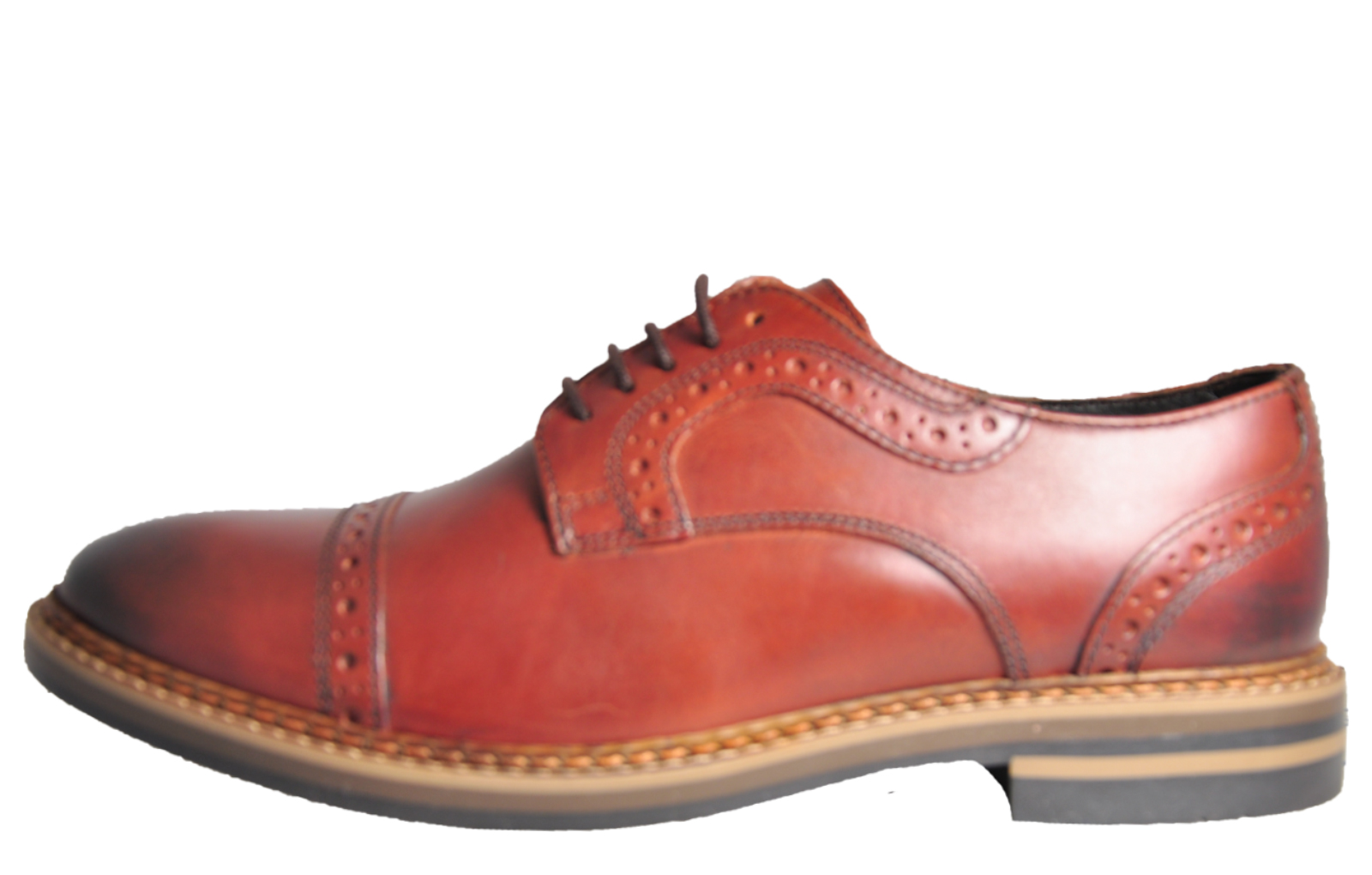 Base London Butler Leather Brogue Shoes - BL179853