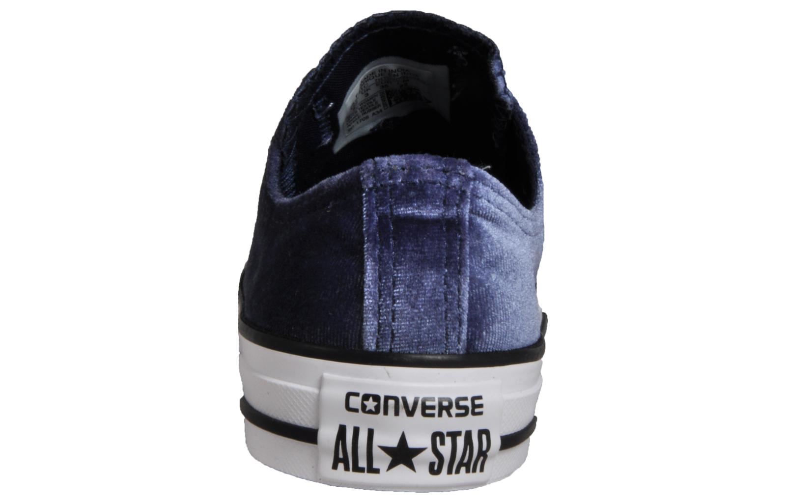 8320b98b5464 Converse CT All Star Velvet OX Womens Girls - CN163036. alternate view 2.  alternate view 1. alternate view 1