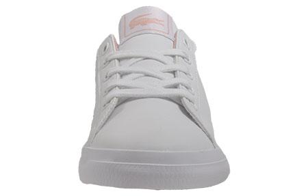 690b0afe91 Lacoste Lerond S116 Junior Girls. White / Pink. Lacoste Lerond S116 Junior  ...
