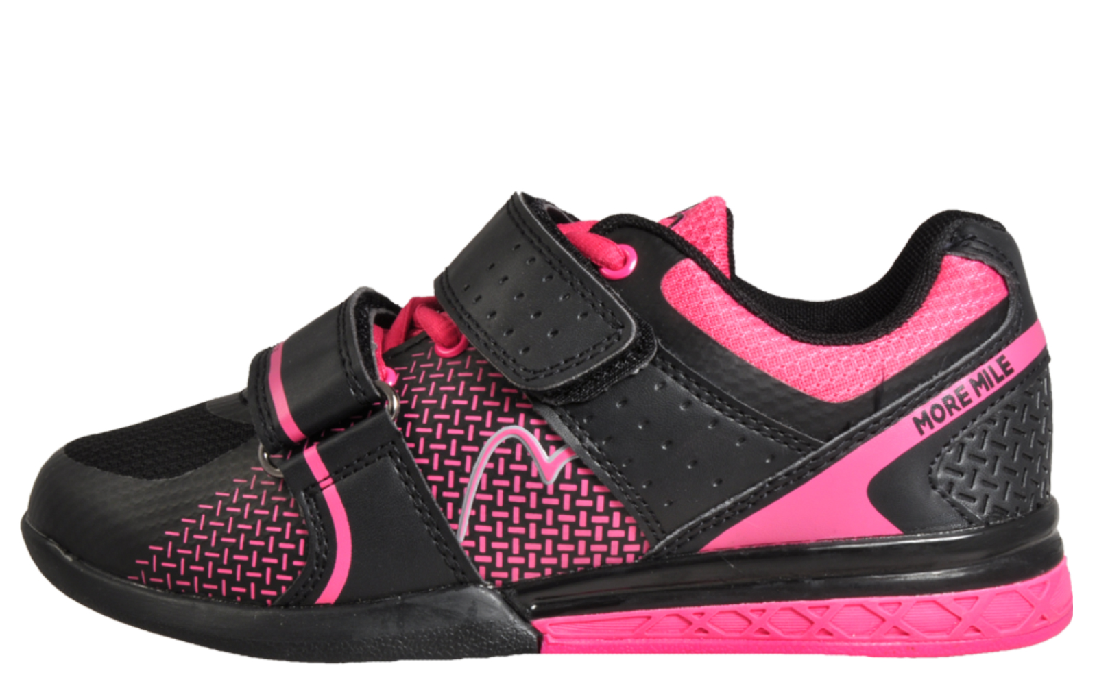 Black   Pink. More Mile Super Lift 3 Weightlifting   Crossfit Womens -  MM170712. alternate view 2 ac2bbbabe