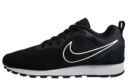 nike mens black md runner 2 mesh shoe