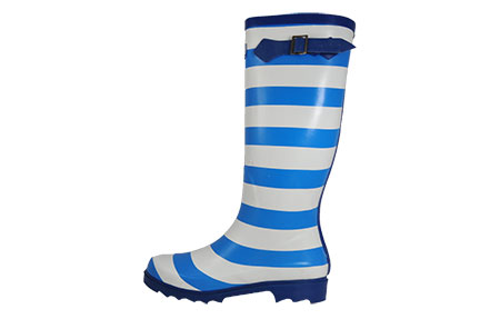 Cotswold Striped Wellington Boots Womens Girls - PL157156