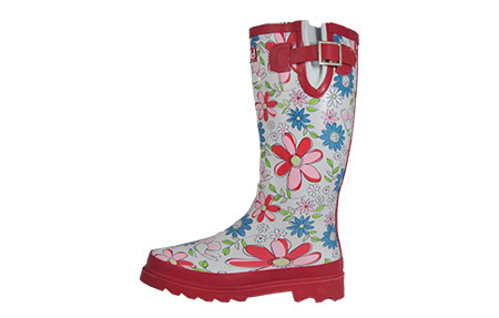 Cotswold Floral Wellington Boots Womens Girls - PR156919