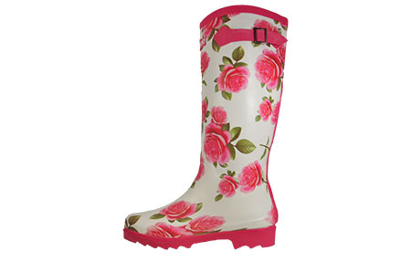 Cotswold Floral Wellington Boots Womens Girls - PR156950