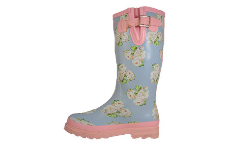 Cotswold Floral Wellington Boots Womens Girls - PR156976