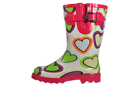 Cotswold Heart Wellies Kids - CW157222