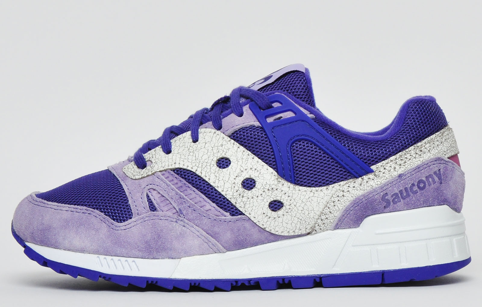 SAUCONY GRID SD GARDEN DISTRICT PURPLE WHITE MENS SIZE SNEAKERS S70416-3