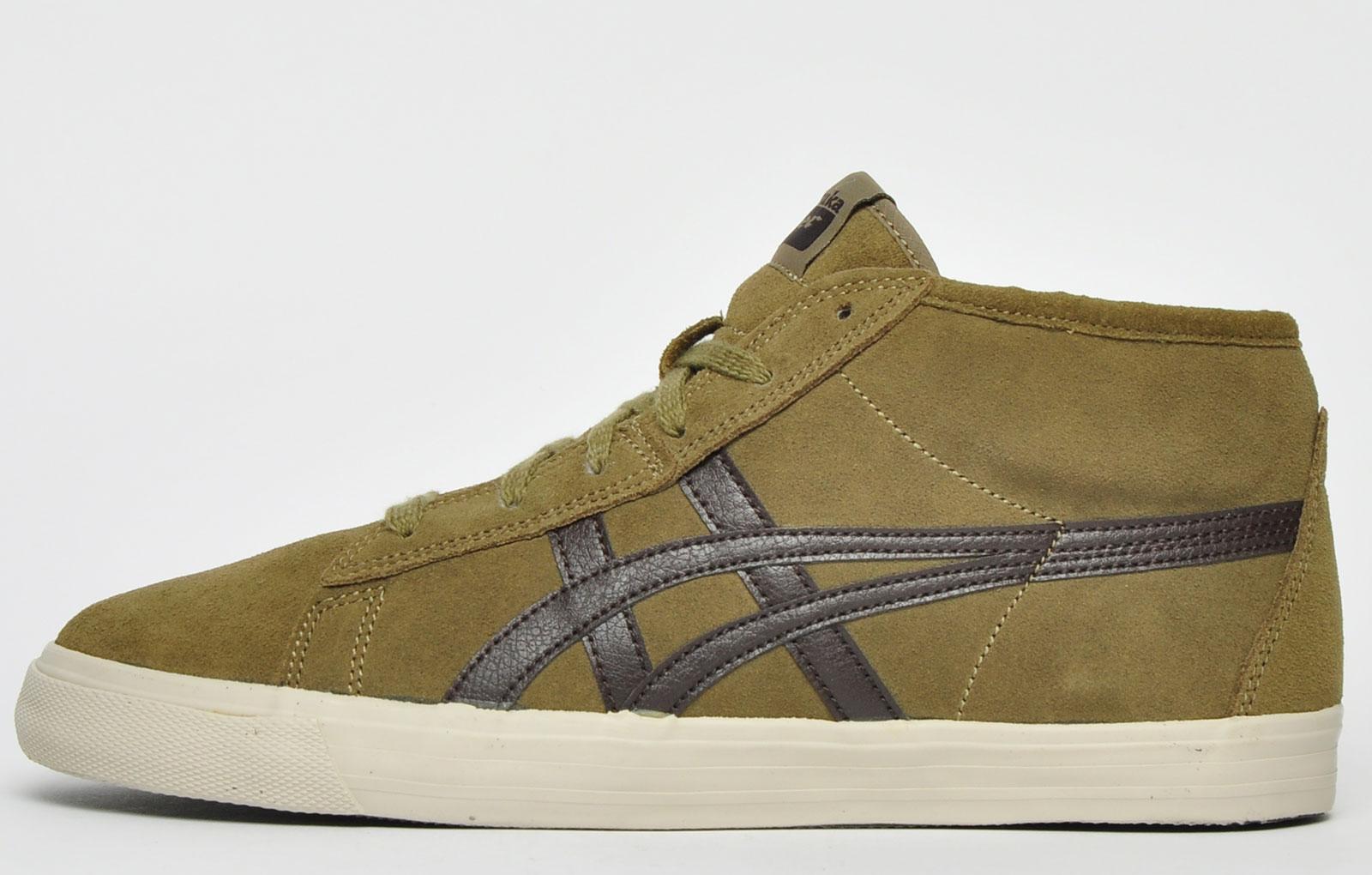 Onitsuka Tiger Fader Mid Men Athletic Shoes Leather Vintage