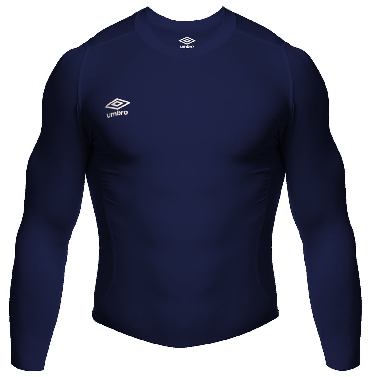 Umbro Base Layer Long Sleeve Top Mens - UM183699