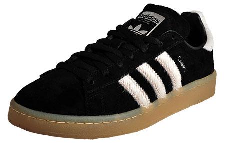 hot sale online e29e4 48cdc Black  White. Adidas Originals Campus Ltd Editon Mens - AD153817.  alternate view 2. alternate view 1