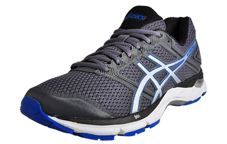 Asics Men S Gel Pheonix  Running Shoes Carbon Silver Size