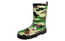 Cotswold Camo Wellington Boots Junior - CW157255