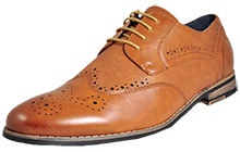 Bruno Marc NY Vintage Leather Lined Brogues Mens  - PR159459