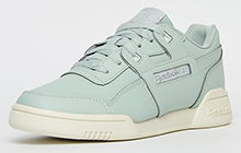 Reebok Classic Workout Lo Plus Womens - RE210641