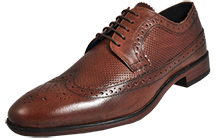 Red Tape Nappa Leather Brogue Mens - RT175646
