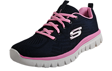 Skechers Get Connected Memory Foam Womens - SK160929